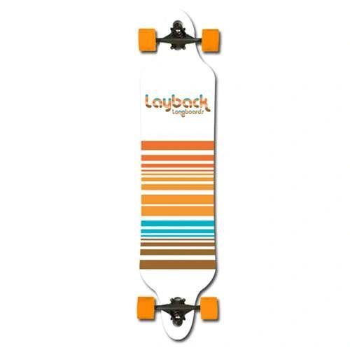 Layback Lines Drop Complete Longboard LLDC001