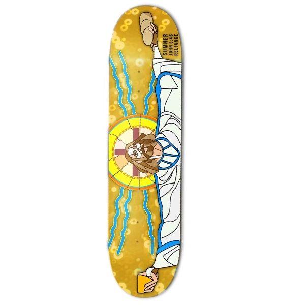 Reliance Sumner Bread Of Life Pro Veneer Skateboard Deck RSBL001