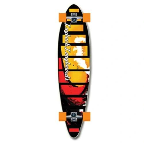 Layback Red Tide Complete Longboard LRTC001