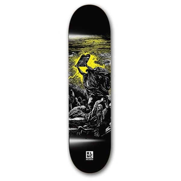 Reliance Testiment PP Moses Skateboard Deck RTPM001