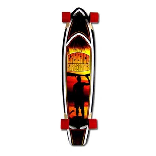 Layback Sunset Complete Longboard LSCL002