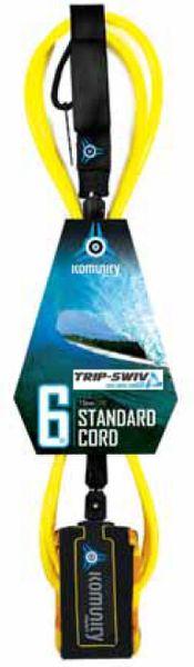 Komunity Project Trip-Swiv Standard Surfboard Leash KPTS001