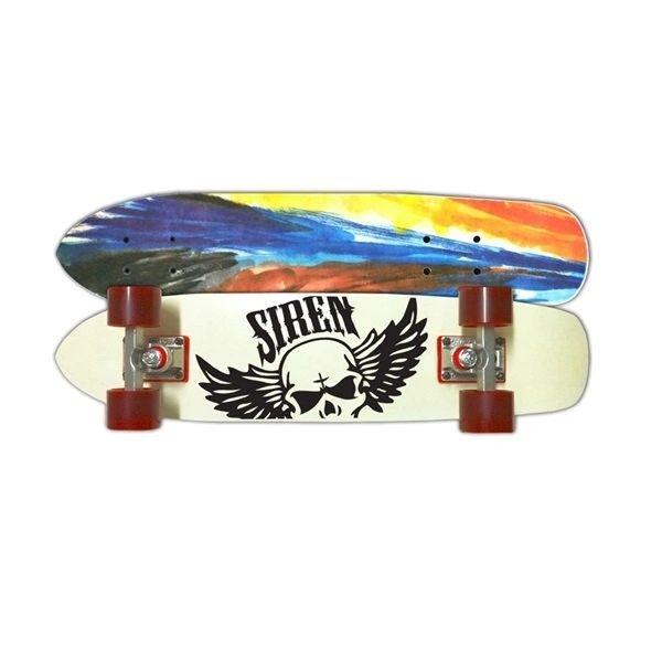 Siren Shredder Fiberglass Cruiser Complete Skateboard SSFC001