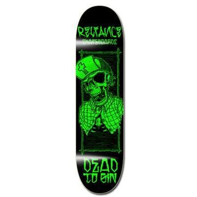 Reliance PP Dead To Sin Skateboard Deck RPDS001