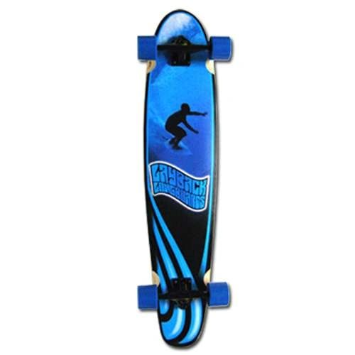 Layback Slotted Complete Longboard LSCL001
