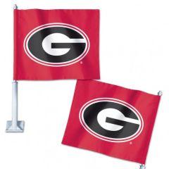 Car Flag, Georgia Bulldogs