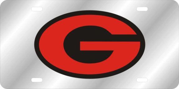 License Plate, Georgia (G Oval)