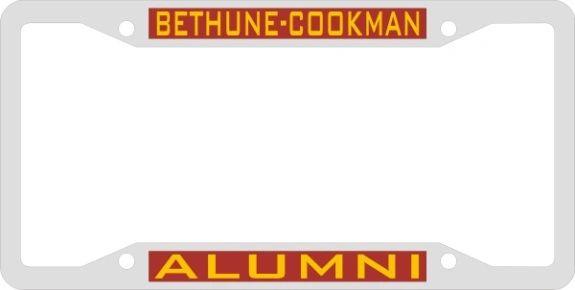 License Plate Frame, BCU Alumni, Dual Bar
