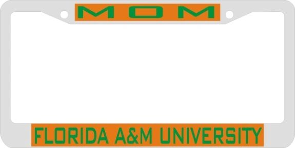 License Plate Frame, FAMU MOM