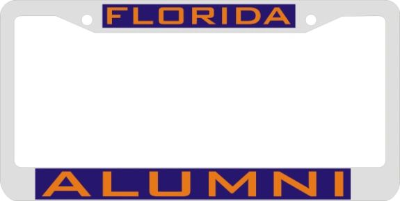 License Plate Frame, Florida Alumni