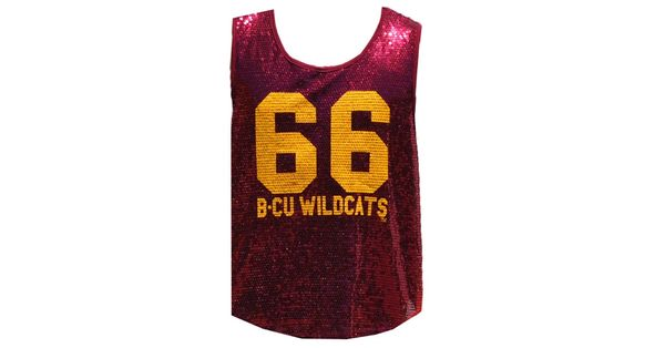 Tank, Bethune-Cookman, Female, Sequin