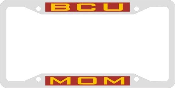 License Plate Frame, BCU MOM
