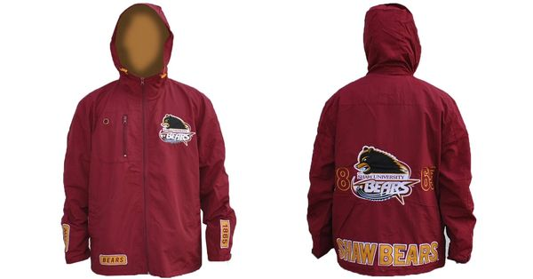 Jacket, Windbreaker, Shaw University