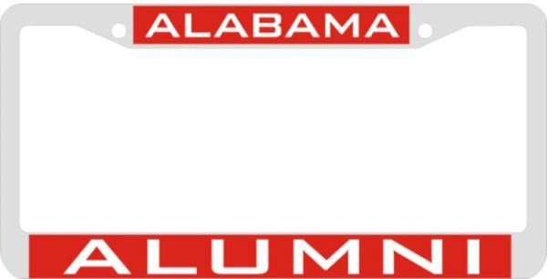 License Plate Frame Alabama Alumni Hbcu Hbcu