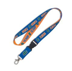 Lanyard, University of Florida w/detach. buckle 3/4""