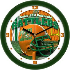 Clock, Wall, Football Helmet, FAMU