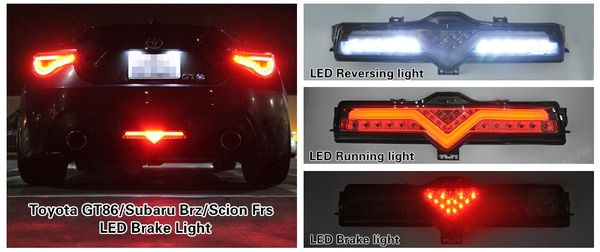 Brz Ft86 Valenti Rear Led X Lume Illuminated Car Products