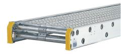 """Werner Taskmaster Aluminum Plank - 24' Long by 20"""" Wide - 2 Person / 500 lbs"""