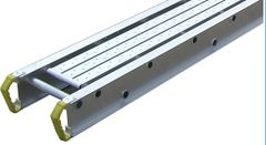 "Werner Taskmaster Aluminum Plank - 8' Long by 14"" Wide - 2 Person / 500 lbs"
