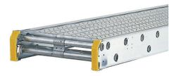 """Werner Taskmaster Aluminum Plank - 24' Long by 24"""" Wide - 2 Person / 500 lbs"""