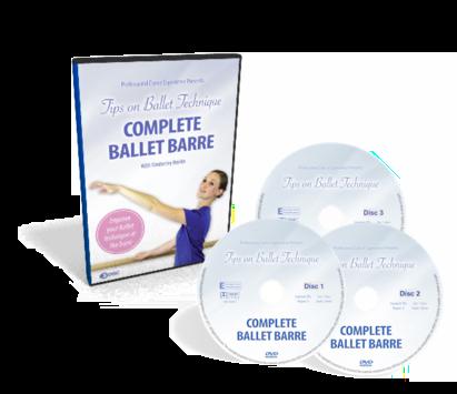 IMPROVE YOUR BALLET TECHNIQUE 3 DISC DVD