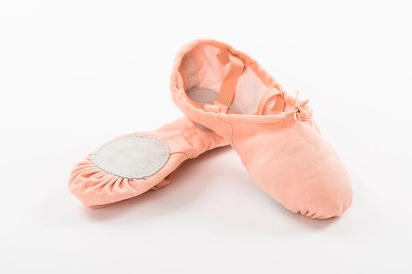 CHACOTTE CANVAS BALLET SHOES