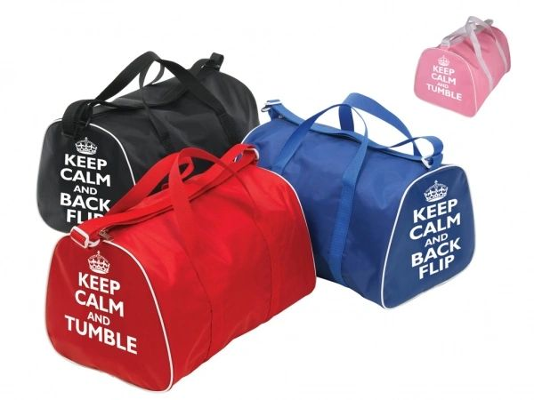 KEEP CALM GYMNASTIC BAG