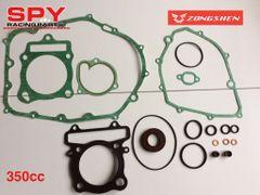 Zhongshen 350cc Engine Gasket Kit-Spy 350 F1-Spyracing -Road legal quad bike Engine parts