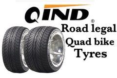 Qind Da Tyre 270-30-14 Road Legal Quad Bike Tyres