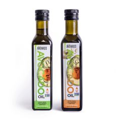 2 Pack Avohass Kenya Extra Virgin Avocado Oil & New Zealand Garlic Extra Virgin Avocado Oil, Non-GMO Project Verified, (2) 8.5 fl. oz. Bottles. Expiration Date September 2021. Free Shipping within USA.