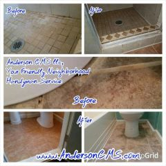 Grout and Tile Cleaning and Sealing