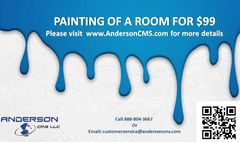 Professional Painting of One Room $99