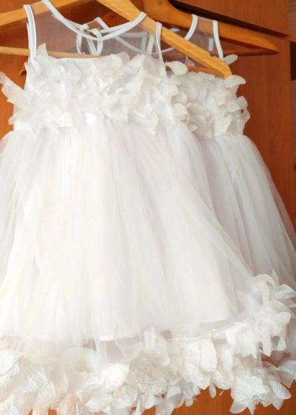 Jodie Ivory Baby Flower Girl Dress Wedding Party Birthday Gift