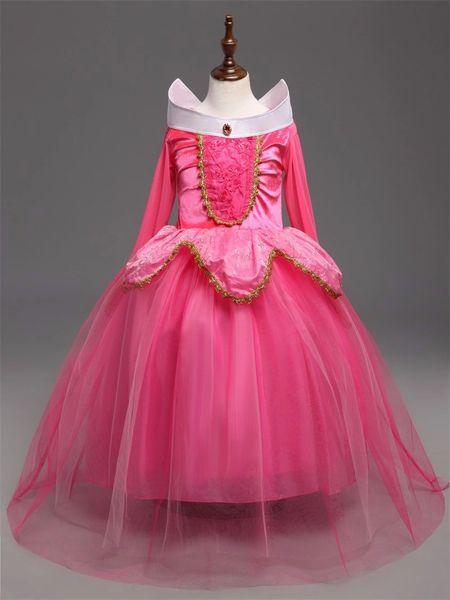 e46c72df1a4 Aurora Sleeping Beauty Fancy Dress Princess Birthday Gift Party H