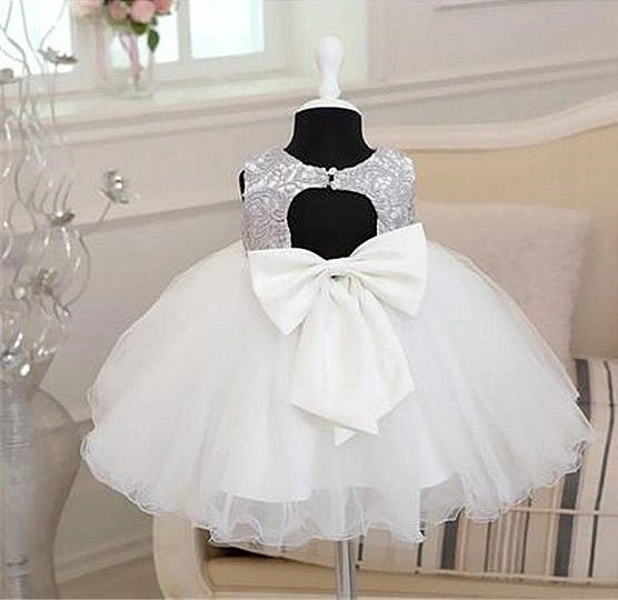 Grace Baby Girl Formal Dress Birthday Gift Party Bridesmaid Lace