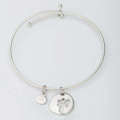 YANA Bracelet w/ Cut-Out YANA Symbol Charm