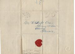 Vermont Merchant, Assistant Postmaster Writes of Whigs, Later Becomes Captive During St. Albans Raid