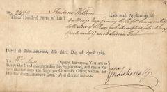 Colonial PA Surveyor-General John Lukens Surveys Old Indian Fort