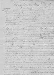Samuel Haycraft, Lincoln Researcher, Signs 1815 Hardin County, KY, Deed Twice