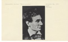 23 Lincoln Photographic Prints From The Meserve Collection
