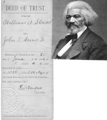 Frederick Douglass, Richard T. Greener, Two Highly Prominent African American Abolitionists, Sign Deed