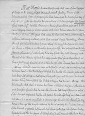 1771 Early Watermark Document Protects John Hancock From Legal Claims