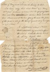 1804 Maryland-Kentucky Female Slave and Two Children Ownership Disputed