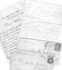 Two Civil War Letters: 190th PA Private Died From Wounds At Siege of Petersburg