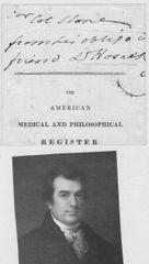 David Hosack, Physician Of Hamilton, Burr -- His Autograph