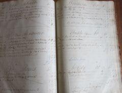 1839 Merchant Journal of Valentine Troop in Nova Scotia
