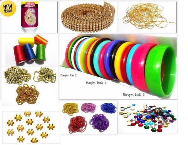 0d7f12de7533 GOELX Silk thread Bangle making fully loaded designing box - includes bangle  set