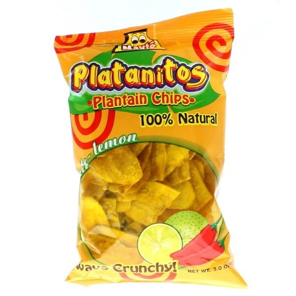 Platanitos chile limon mayte 85g