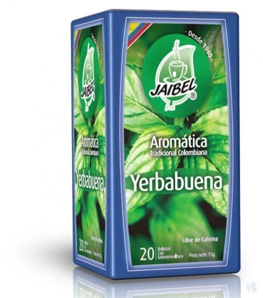Aromatica Yerbabuena Jaibel x 20 Sobres