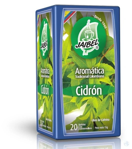 Aromatica Cidron Jaibel x 20 Sobres